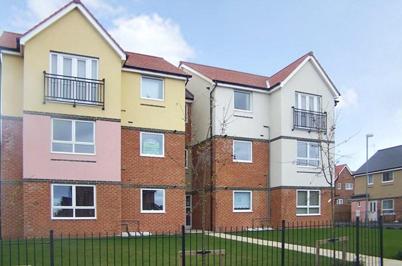 2 Bedrooms Apartment Flat for sale in Hindmarsh Drive, Ashington, Ashington, Northumberland, NE63 9FA