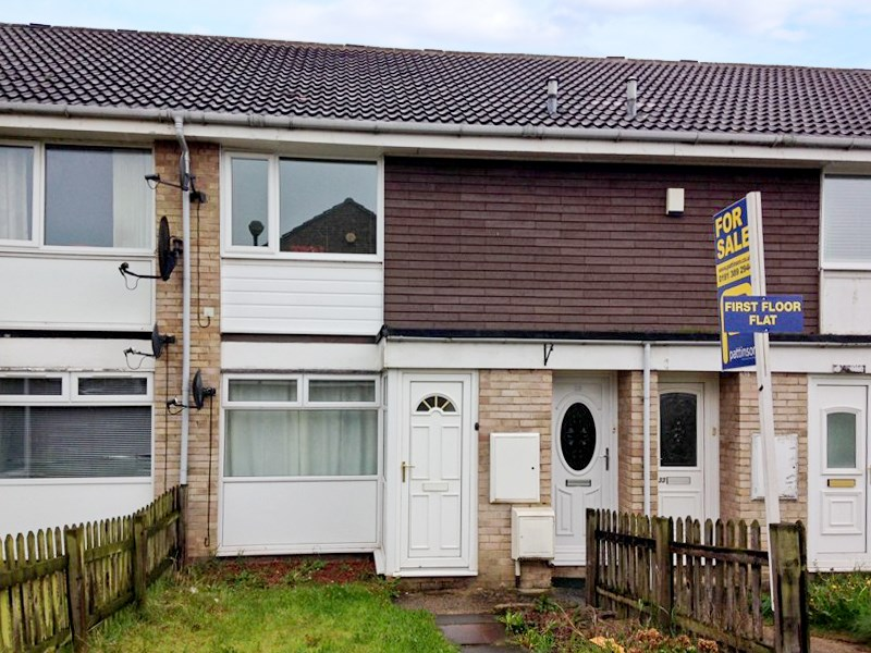 1 Bedroom Property for sale in Thorntons Close, Pelton, Chester-le-Street, Durham, DH2 1QQ