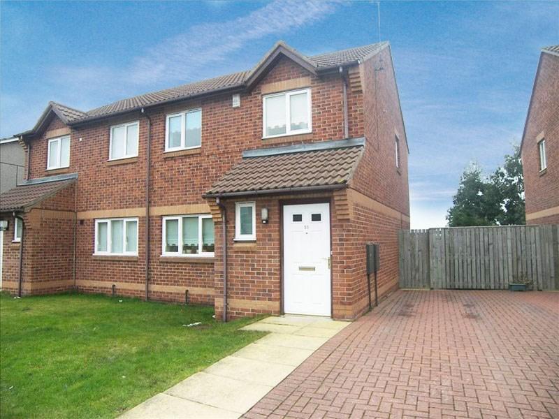 3 Bedrooms Property for sale in Arthington Way, harton moor, South Shields, Tyne & Wear, NE34 0HR