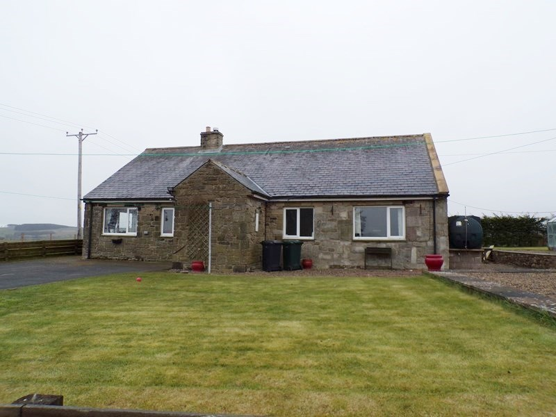 3 Bedrooms Bungalow for sale in Crossridge Farm, Wark, Hexham, Northumberland, NE48 3BG