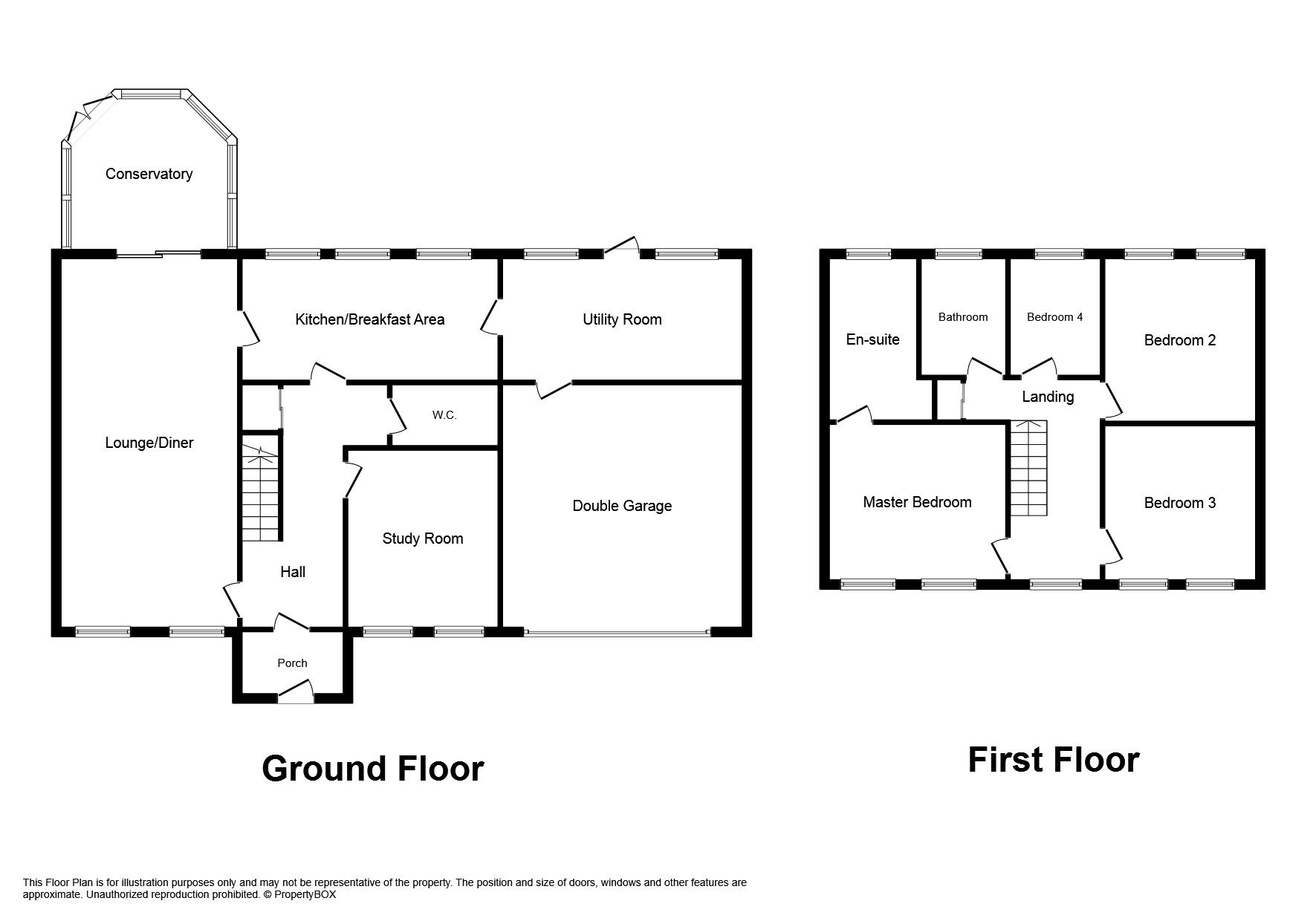 4 bed detached to buy in ne12 for Purchase floor plan