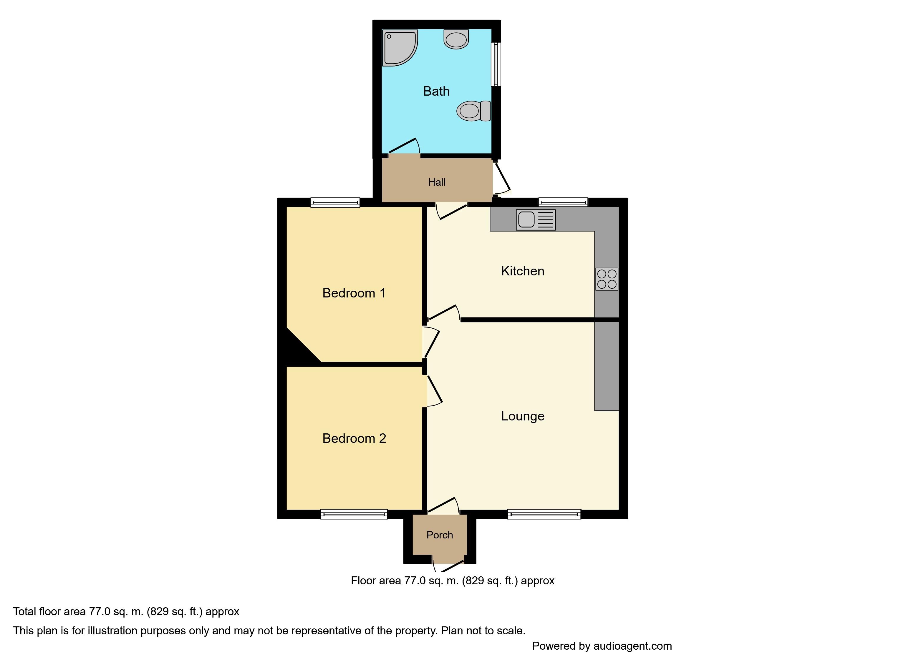 durham avenue floor plan