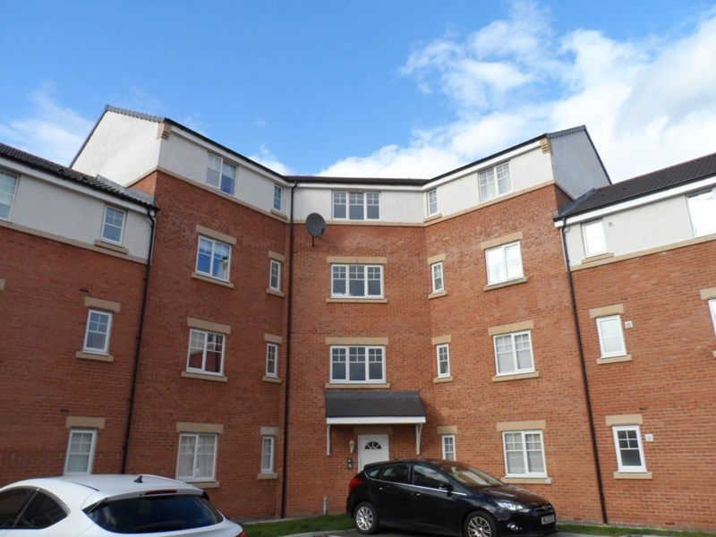 2 Bedrooms Apartment Flat for sale in Blanchland Court, Ashington, Ashington, Northumberland, NE63 8TG
