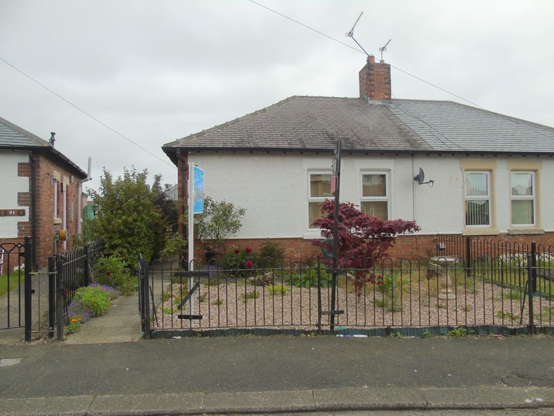 1 Bedroom Bungalow for sale in Second Avenue, Morpeth, Northumberland, NE61 2EU