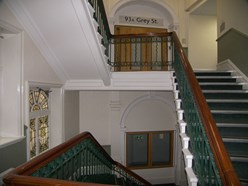 Image of Communal stairway.