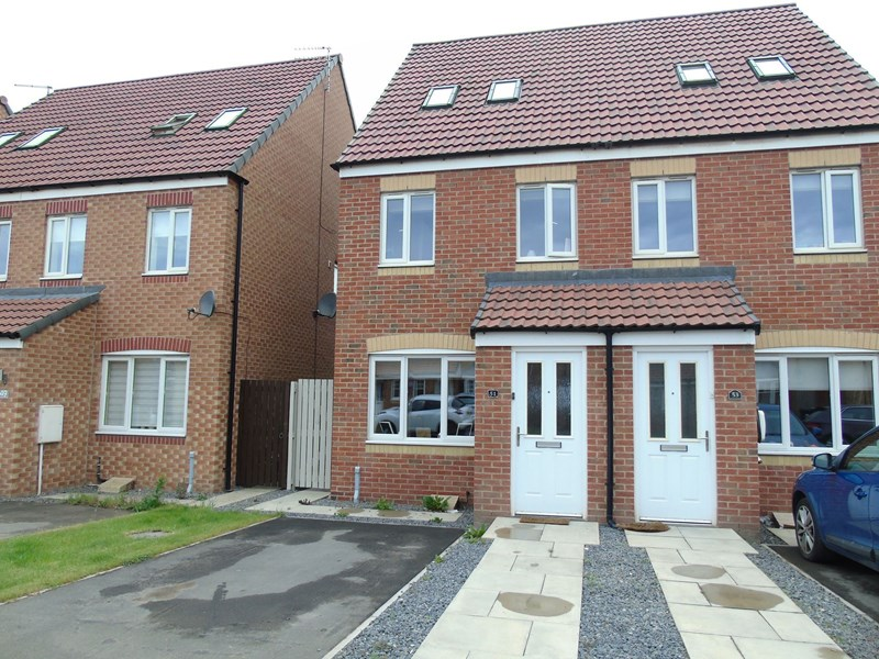 3 Bedrooms Property for sale in Rothbury Drive, Ashington, Northumberland, NE63 8TJ