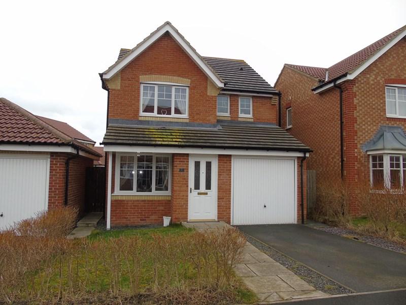 3 Bedrooms Property for sale in Whalton Grove, Ashington, Ashington, Northumberland, NE63 8UH