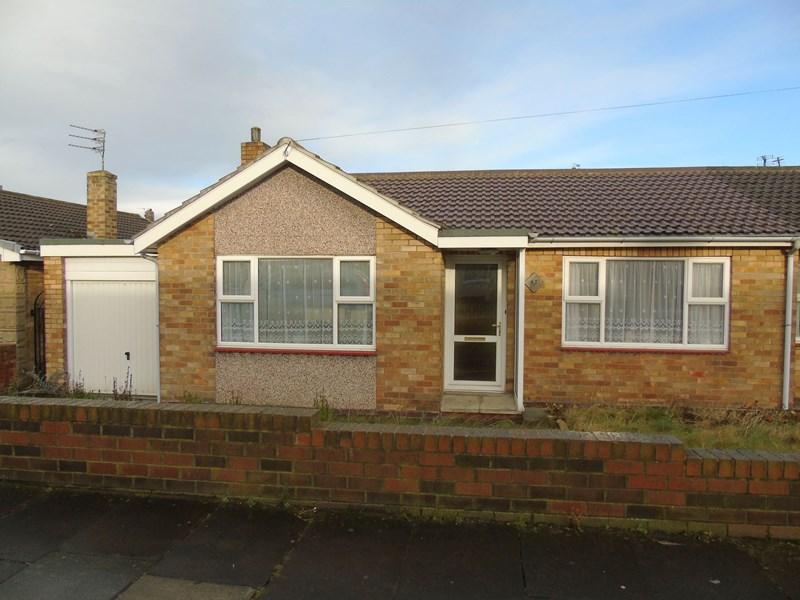 2 Bedrooms Bungalow for sale in Hotspur Avenue, Bedlington, Bedlington, Northumberland, NE22 5TE
