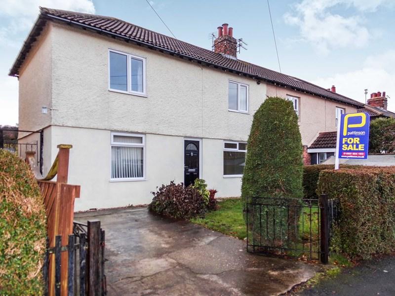 3 Bedrooms Property for sale in Lindisfarne Road, Alnwick, Northumberland, NE66 1AU