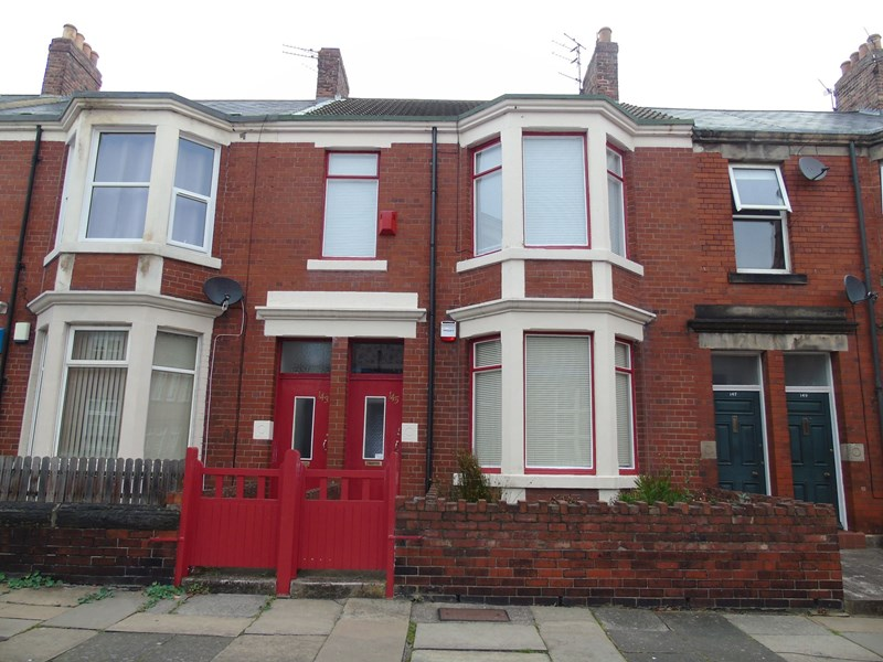 2 Bedrooms Property for sale in Tosson Terrace, Heaton, Newcastle upon Tyne, Tyne and Wear, NE6 5EA