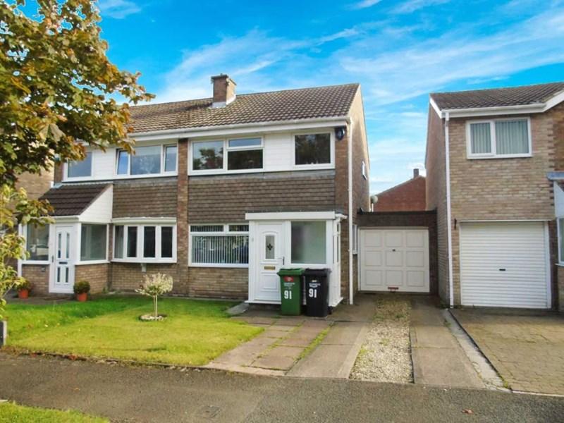 3 Bedrooms Property for sale in Burnside, Ashington, Northumberland, NE63 9UF