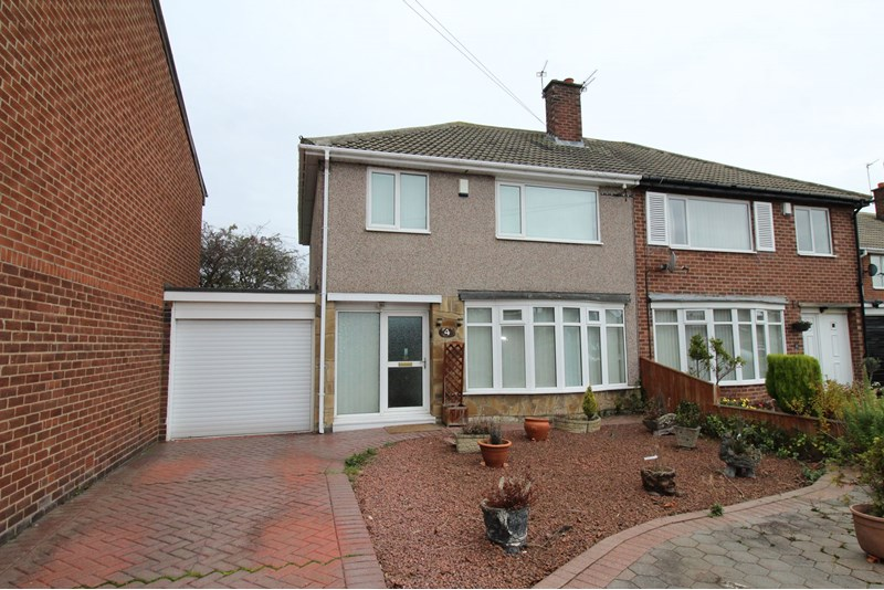 3 Bedrooms Property for sale in Hepple Way, Regent Farm, Newcastle upon Tyne, Tyne and Wear, NE3 3HS