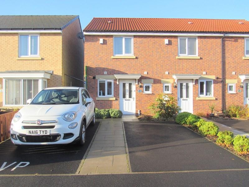 2 Bedrooms Property for sale in Corinto Close, Cramlington, Northumberland, NE23 6FA