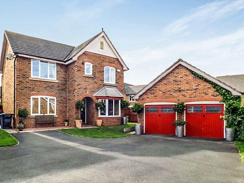 4 Bedrooms Property for sale in Kirkharle Drive, Pegswood, Morpeth, Northumberland, NE61 6TE