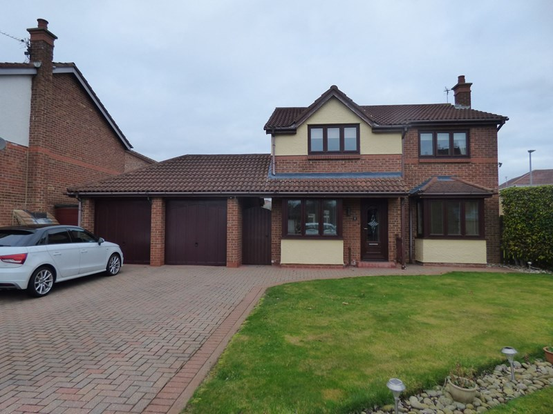 4 Bedrooms Property for sale in Orpine Court, Ashington, Ashington, Northumberland, NE63 8JQ