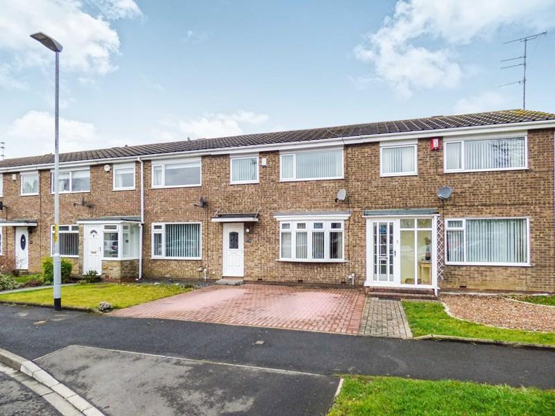 3 Bedrooms Property for sale in Tiverton Place, Cramlington, Northumberland, NE23 1PT