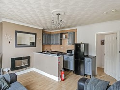 Image of Open plan Lounge/kitchen area