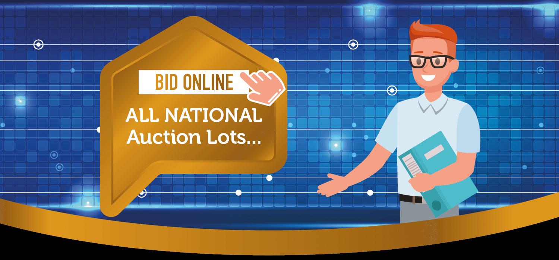 bid online all national lots